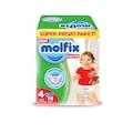 58186999 - Molfix Maxi Külot 7-14 KG Bebek Bezi 4 Beden 76 Adet - n11pro.com