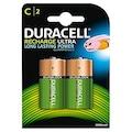 86488424 - Duracell C Şarj Edilebilir 2 Adet Alkalin Pil - n11pro.com