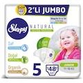 33195598 - Sleepy Sensitive Junior Bantlı 11-18 KG Bebek Bezi 2 Paket 5 Beden 2 x 24 48 Adet - n11pro.com