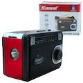 29516797 - Kamal KM-614 USB-SD-FM Destekli Mp3 Çalar Ahşap Radyo - n11pro.com