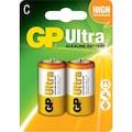 08070715 - GP GP14AU-2U2 Ultra Alkalin LR14 Orta Boy C Pil 2'li - n11pro.com