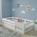 73484206 - Montessori Mdf Karyola Yatak Uyumlu Beyaz Y19 x G190 x D90 CM - n11pro.com
