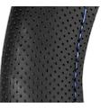 77368764 - Automix Sarmalı Direksiyon Kılıfı Noktalı Mavi Dikişli Siyah - n11pro.com