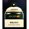 Motip Carat RAL 9013 Kırık Beyaz Parlak Sprey Boya 400ml
