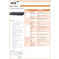 SCSI SNR-T881H 8 KANAL 1080p D1 HDMI,SATAx1 NVR KAYIT CİHAZI