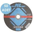 09768736 - KL KLTI115 50 Adet 115 x 22.2 MM Metal Kesme Diski Düz - n11pro.com