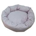 75718405 - Mrs. Pillow Feriha Desenli Kedi ve Köpek Yatağı 45 x 45 CM - n11pro.com
