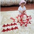 38183547 - Esay Eğitici 3D Eğlenceli Puzzle Dekoratif Süs Kırmızı 40 Parça - n11pro.com
