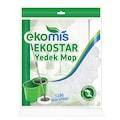 01237720 - Ekomis Ekostar Yedek Mikrofiber Mop Beyaz - n11pro.com