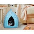 44122921 - Buffer Pet Hut Polar Kedi ve Köpek Yatağı - Mavi - n11pro.com