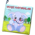 92989333 - Tox Vahşi Hayvanlar Sessiz Kumaş Kitap - n11pro.com