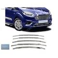 25642560 - Ford Courier Ön Panjur Krom 5 Parça - n11pro.com