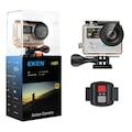 59997759 - Eken H8R 4K Ultra HD Wifi Aksiyon Kamerası + Çanta Siyah - n11pro.com