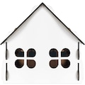 20982119 - Tulyano Ahşap Dekoratif İç Mekan Kedi Köpek Evi Beyaz 60 x 60 x 60 CM - n11pro.com