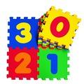 23578195249948608562 - Akar Eva Puzzle 33 x 33 CM Rakamlar Oyun Karosu - n11pro.com