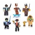 6 Lı Oyuncak Roblox Figürleri ve Aksesuarları 13 Parça Kutulu Set