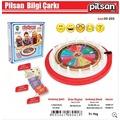 Pilsan Bilgi Çarkı - Oyuncak Bilgi Çarkı Eğitim Seti 520 Soru