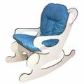 sallanan çocuk sandalyesi koltuğu pembe mavi sallanır