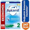 Aptamil 2 Akıllı Kutu Devam Sütü 1200 gr SKT : 04/2021
