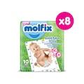 Molfix Bebek Bakım Örtüsü Fırsat Paketi 80 adet