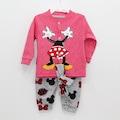Kız ve Erkek Bebek Mevsimlik Mickey li Takım