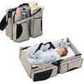3 in 1 Taşınabilir Katlanabilir Bebek Çantası