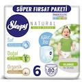 Sleepy Natural KÜLOT Bez 5 Beden Junior 100 Adet 6 Beden 80 Adet