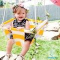Bebekister Ahşap Bebek Salıncak - Çocuk Beşik Hamak Salıncağı