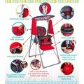 Pasha Baby Mega Mama Sandalyesi Bebek Çocuk Salıncağı Salıncak