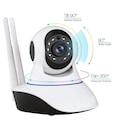 Dextel 360º Gerçek HD Wifi Kablosuz IP Kamera Bebek Kamerası