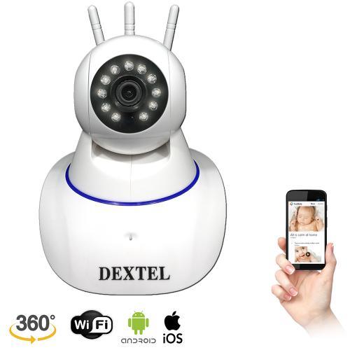 Full HD WiFi Kablosuz IP Kamera 3 Anten 2019 Model Bebek Kamerası