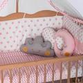 Bamgidoo Organik 60X120 Yıldızlı Uyku Setli - Anne Yanı Beşik