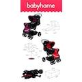 Baby Home Bh-655 Pasific Çift Yönlü Bebek Arabası