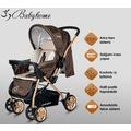 Baby Home Bh-760 Gold Bilyeli Teker Çift Yönlü Bebek Arabası