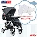 Tommybaby Eagle Alüminyum Lüx Çift Yön Bebek Arabası