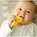 Diş Kaşıyıcı Ve Diş Fırçası Muz Karikatürlü