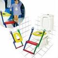 Çocuk Tuvalet Alıştırıcı Adaptörlü Merdivenli Eğitici Merivenli K