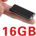 16GB USB Flash Mp3 Dijital Ses Kaydedici Mini Ses Kaydedici