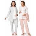 Polat 2038 Kadın Lohusa Üçlü Pijama Takım