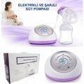 Elektrikli Göğüs ve Süt pompası Tekli,LED Ekran,Garantili