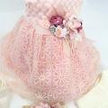 Kız Bebek Mevlüt Elbisesi,Gelinlik, Fransız Dantelli