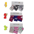 Kız Bebek Renkli 0-3 Ay 3lü Bebek Çorap/ Bebek Çorabı