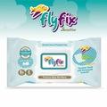 Flyfix Saf Yumuşak Islak Mendil Kapaklı B5 Ve E Vitaminli 60'lı