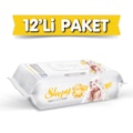 Sleepy Sensitive Islak Havlu Mendil 90'lı 12 Adet 1080 Yaprak