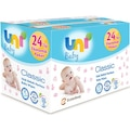 Uni Baby Classic  Islak Havlu Kapakli 24X90 lı 2160 Yaprak Yeni