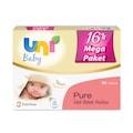 Uni Baby Pure Islak Havlu 16'lı Ekonomik Fırsat Paketi