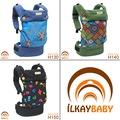 İLKAY BABY Handy Ergonomik Kanguru(3ay-4yaş)/Tüm Desenler