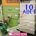 Bebek Çocuk Güvenlik Dolap ve Çekmece Kilidi 10 Adet KARGO BEDAVA