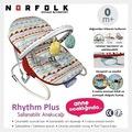 Norfolk Rhythm Titreşimli ve Müzikli Ev Tipi Ana Kucağı -Kademeli