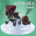 Four baby active gold travel sistem bebek arabası